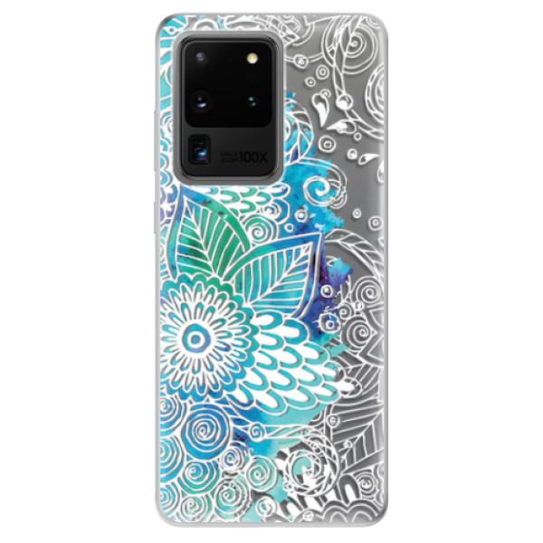 Odolné silikonové pouzdro iSaprio - Lace 03 - Samsung Galaxy S20 Ultra