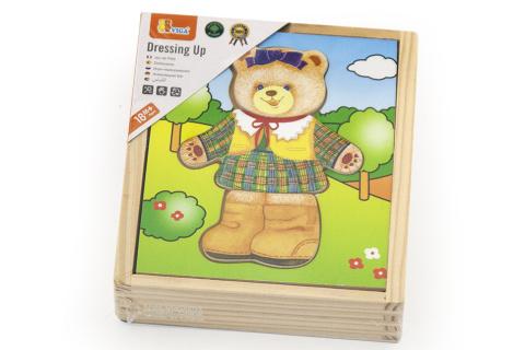 Dřevěné oblékání - medvědice