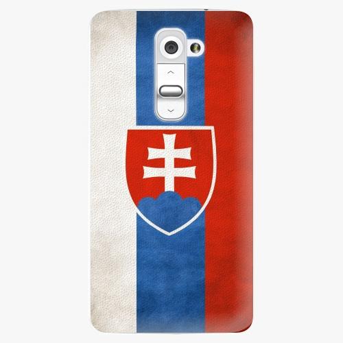 Plastový kryt iSaprio - Slovakia Flag - LG G2 (D802B)