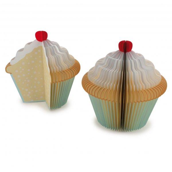 Cupcake - poznámkový blok