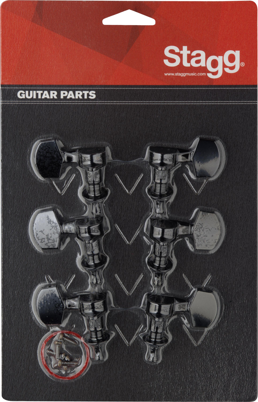 Stagg KG371BK, ladící mechanika pro elektrickou/akustickou kytaru