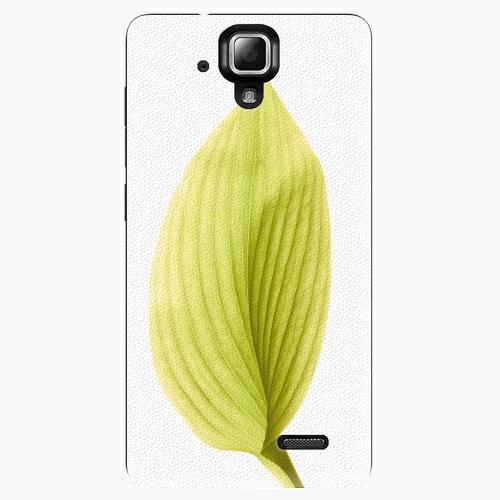 Plastový kryt iSaprio - Green Leaf - Lenovo A536