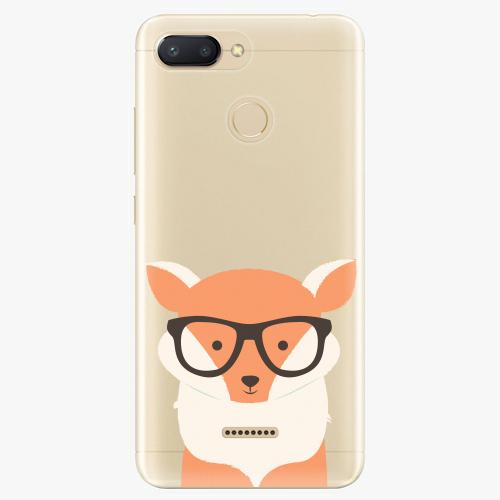 Silikonové pouzdro iSaprio - Orange Fox - Xiaomi Redmi 6