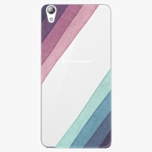 Plastový kryt iSaprio - Glitter Stripes 01 - Lenovo S850