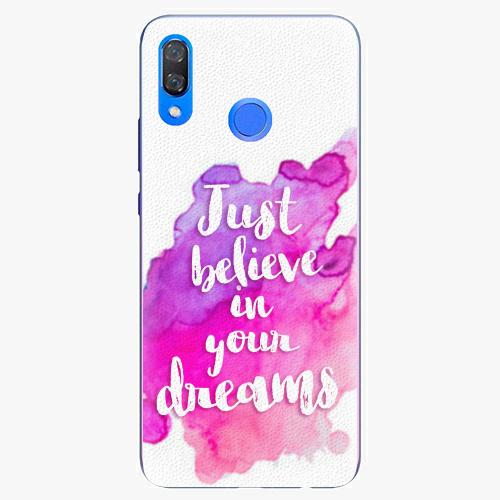 Plastový kryt iSaprio - Believe - Huawei Y9 2019