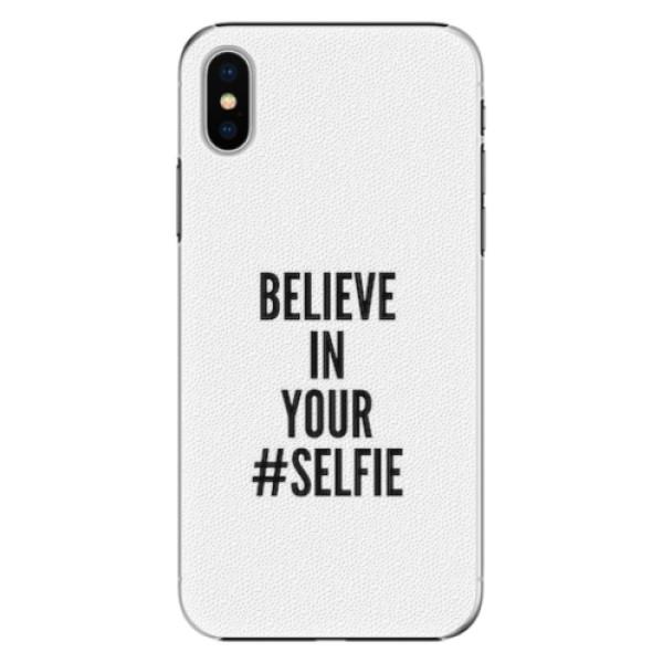 Plastové pouzdro iSaprio - Selfie - iPhone X