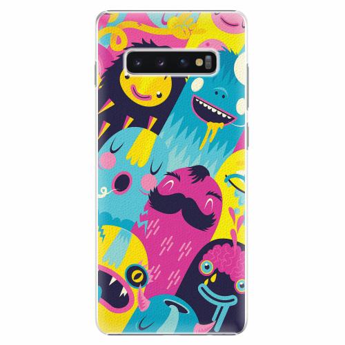 Plastový kryt iSaprio - Monsters - Samsung Galaxy S10+