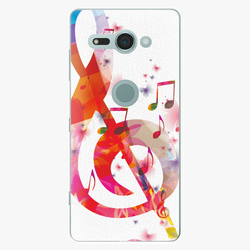 Plastový kryt iSaprio - Love Music - Sony Xperia XZ2 Compact