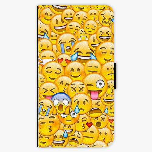 Flipové pouzdro iSaprio - Emoji - Huawei Ascend P8 Lite