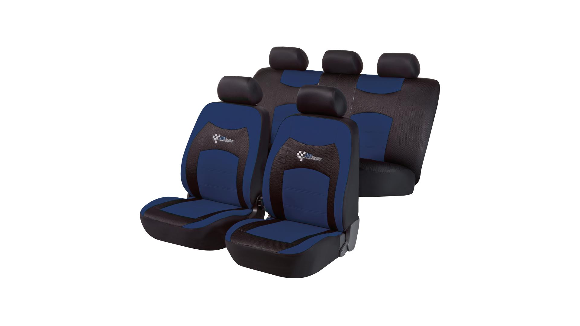 Walser Car Seat Cover RS Racing blue