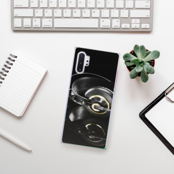 Plastové pouzdro iSaprio - Headphones 02 - Samsung Galaxy Note 10+