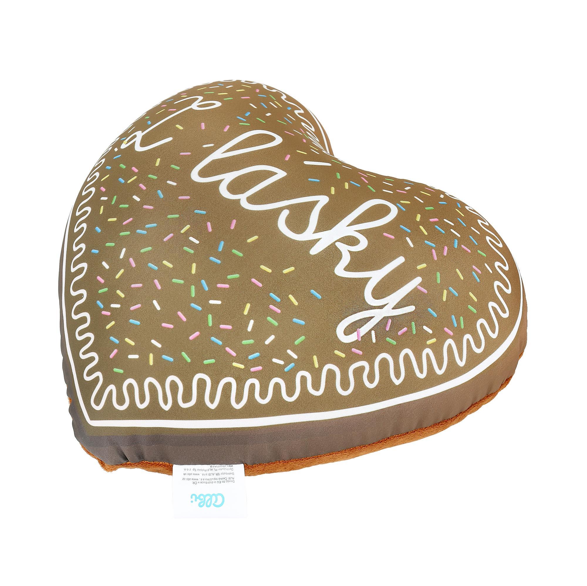 Polštář - Perníkové srdce
