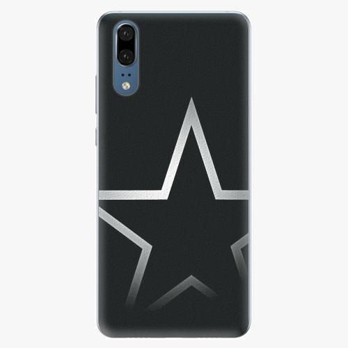 Silikonové pouzdro iSaprio - Star - Huawei P20