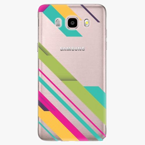 Plastový kryt iSaprio - Color Stripes 03 - Samsung Galaxy J5 2016