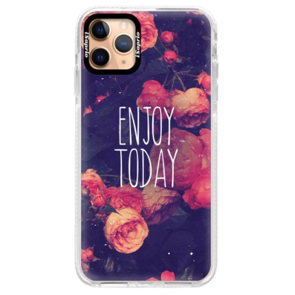 Silikonové pouzdro Bumper iSaprio - Enjoy Today - iPhone 11 Pro Max