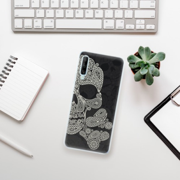 Odolné silikonové pouzdro iSaprio - Mayan Skull - Huawei P Smart Pro