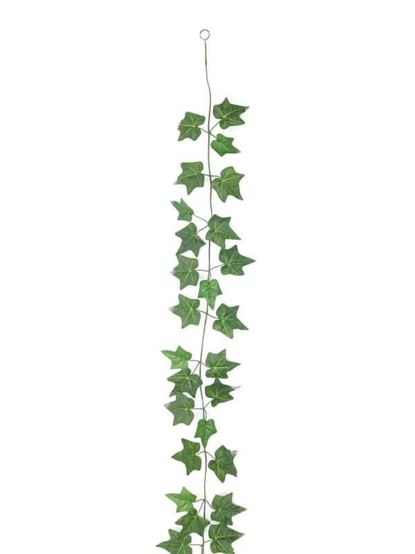 Girlanda z břečťanu světle zelená, 180cm