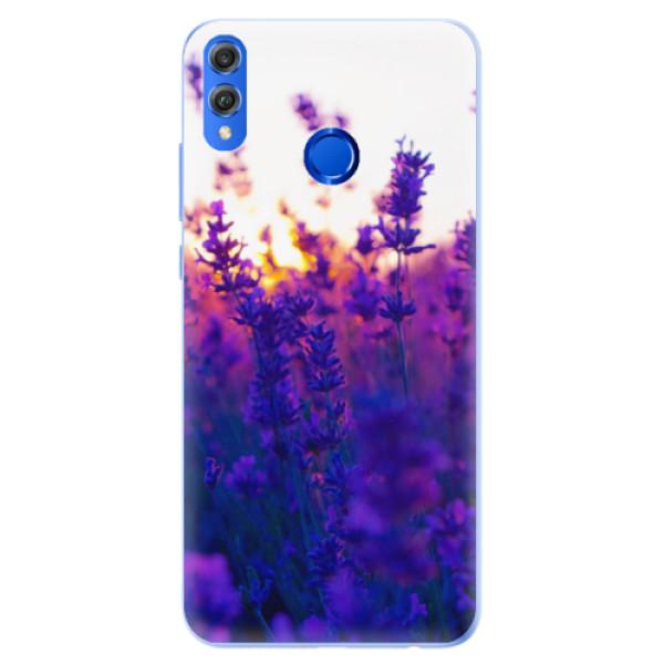 Silikonové pouzdro iSaprio - Lavender Field - Huawei Honor 8X
