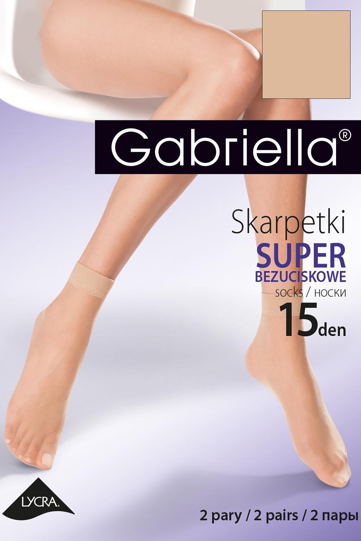Ponožky Gabriella Netlačící Lycra Code 600