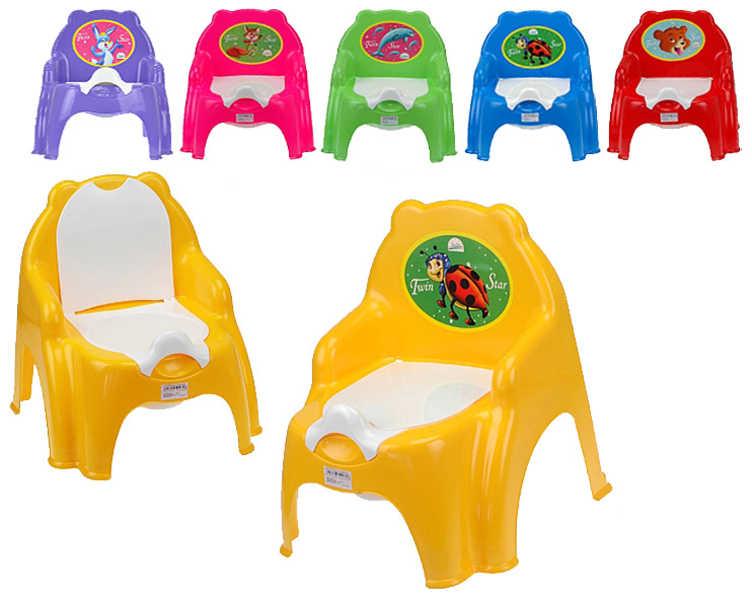 Židlička s vyjímatelným nočníkem BABY