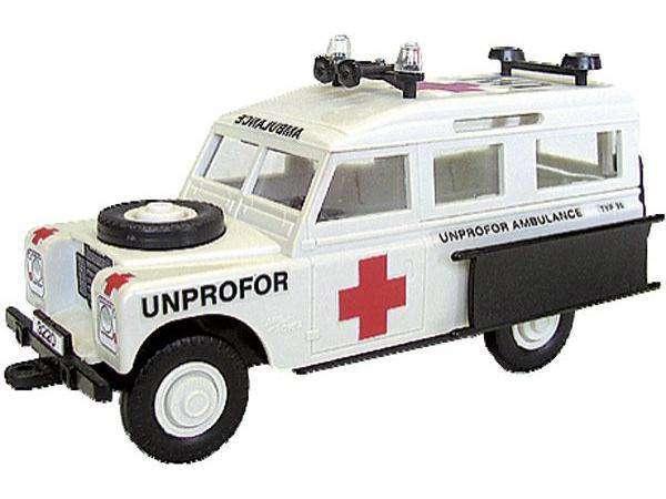 MONTI SYSTÉM 35 Auto Land Rover UN AMBULANCE MS35 0101-35