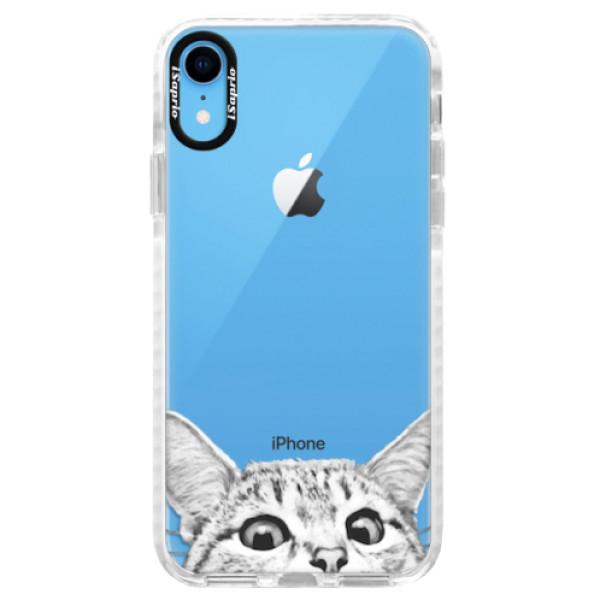 Silikonové pouzdro Bumper iSaprio - Cat 02 - iPhone XR
