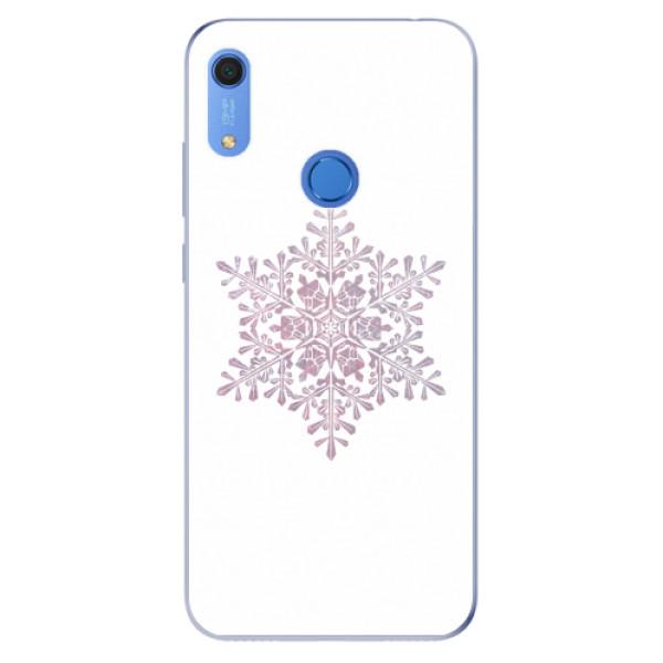 Odolné silikonové pouzdro iSaprio - Snow Flake - Huawei Y6s