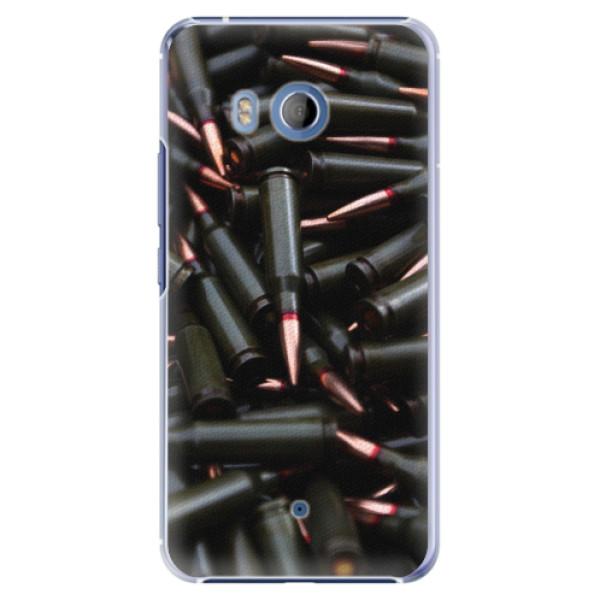 Plastové pouzdro iSaprio - Black Bullet - HTC U11
