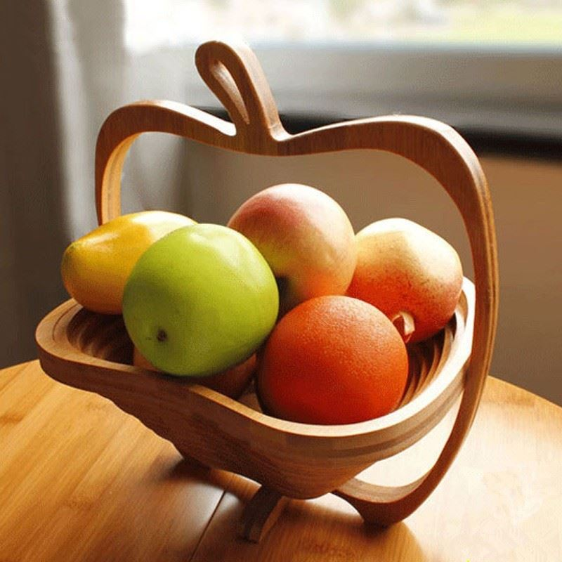 Skládací košík - jablko
