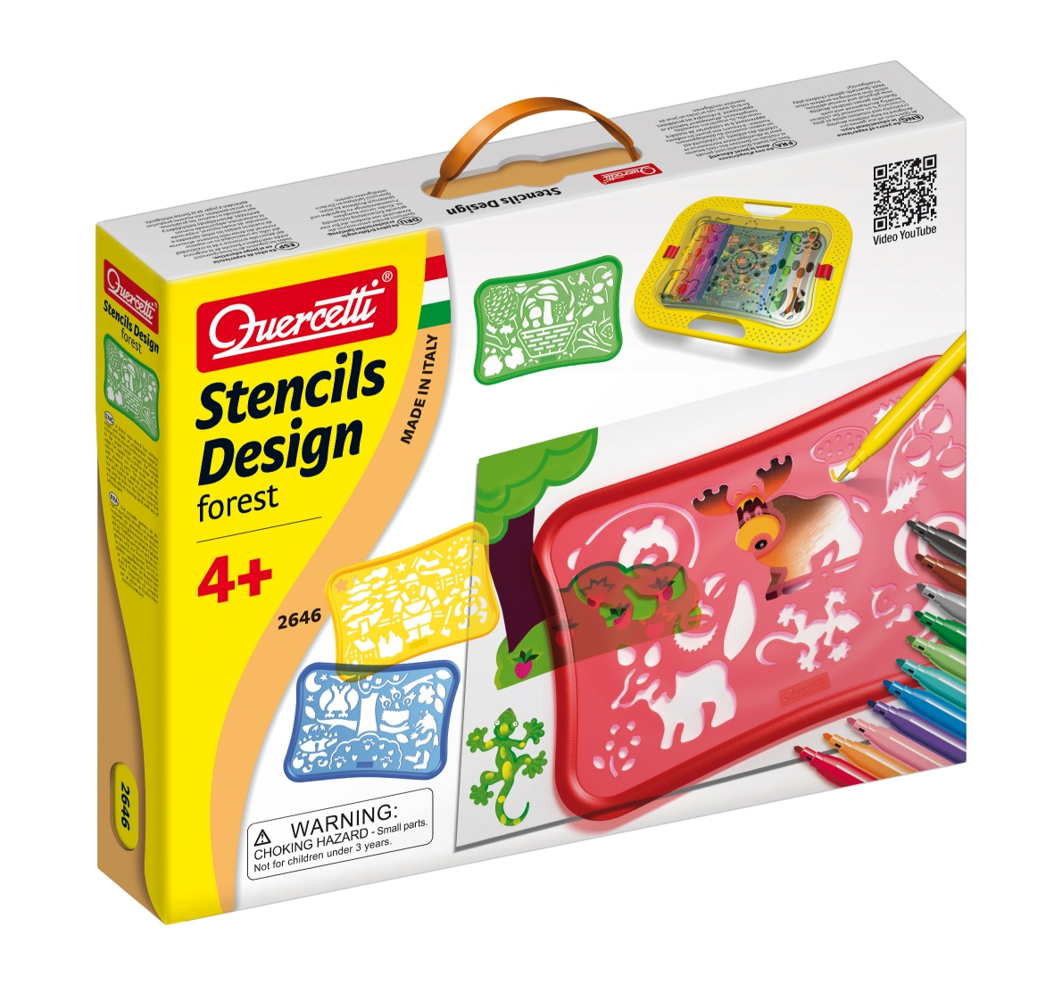 Quercetti Design Forest Stencils 2646