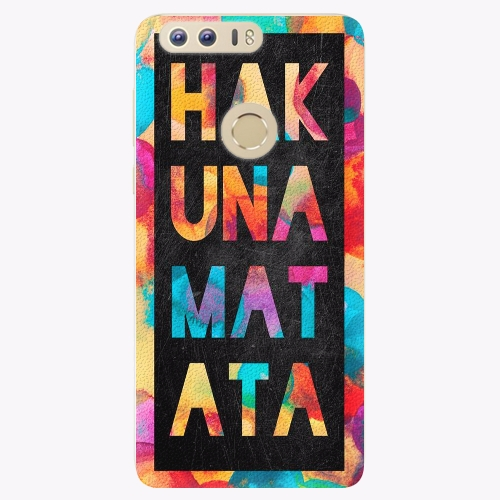 Plastový kryt iSaprio - Hakuna Matata 01 - Huawei Honor 8