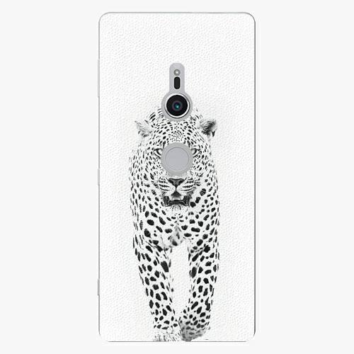 Plastový kryt iSaprio - White Jaguar - Sony Xperia XZ2