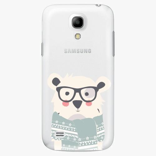 Plastový kryt iSaprio - Bear With Scarf - Samsung Galaxy S4 Mini