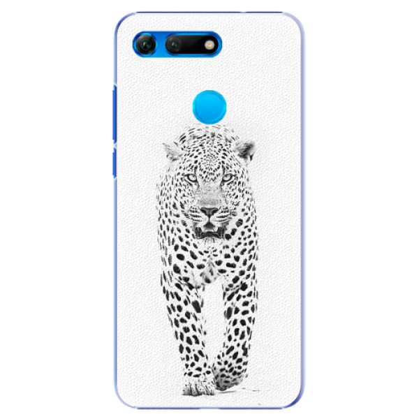 Plastové pouzdro iSaprio - White Jaguar - Huawei Honor View 20