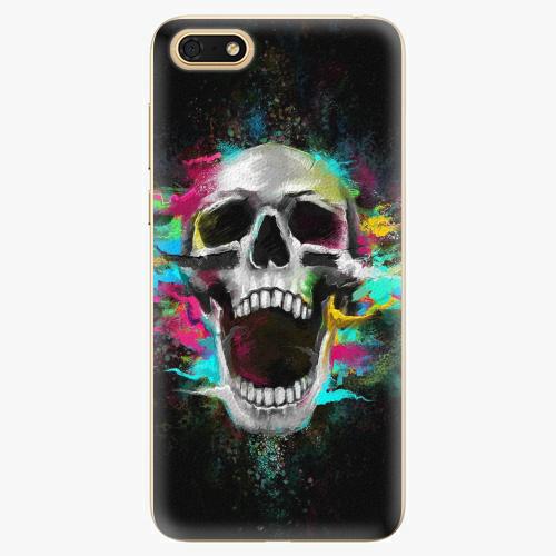 Plastový kryt iSaprio - Skull in Colors - Huawei Honor 7S