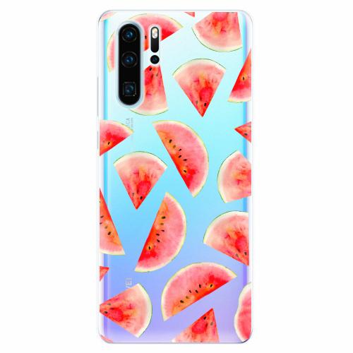 Silikonové pouzdro iSaprio - Melon Pattern 02 - Huawei P30 Pro