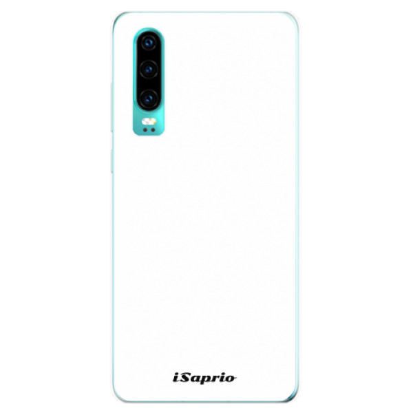 Odolné silikonové pouzdro iSaprio - 4Pure - bílý - Huawei P30