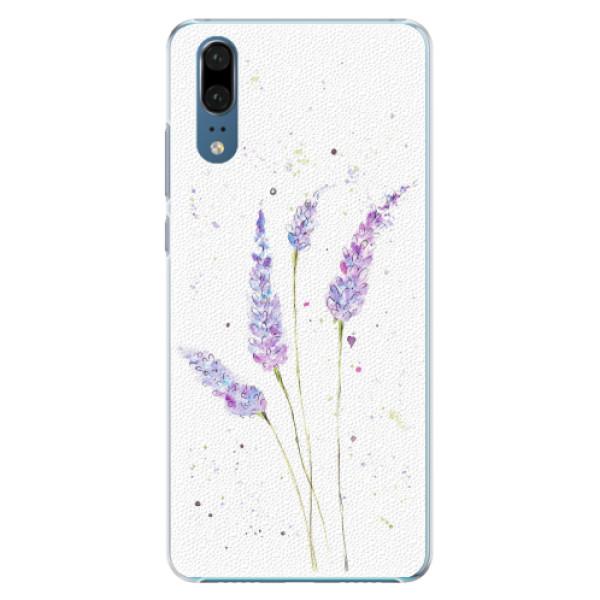 Plastové pouzdro iSaprio - Lavender - Huawei P20