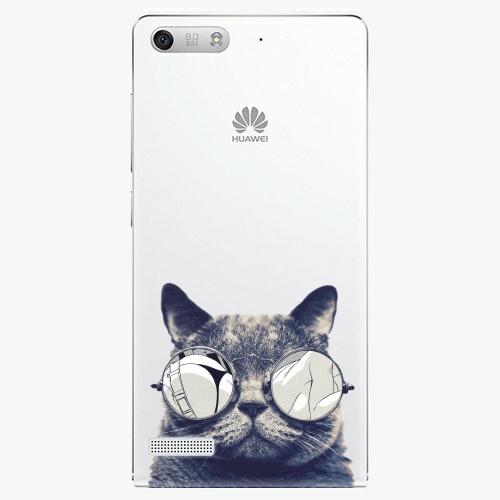 Plastový kryt iSaprio - Crazy Cat 01 - Huawei Ascend G6