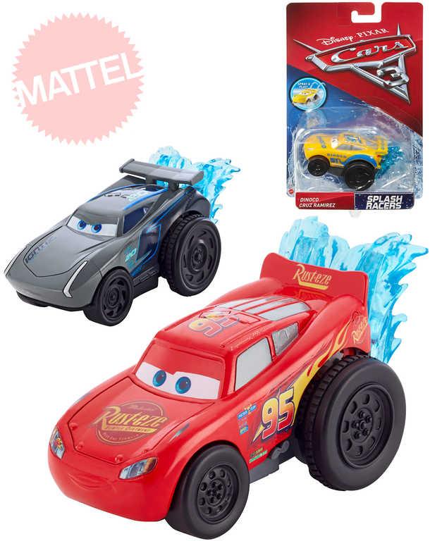 MATTEL Autíčko natahovací do vody Cars 3 (Auta) zpětný nátah - 3 druhy