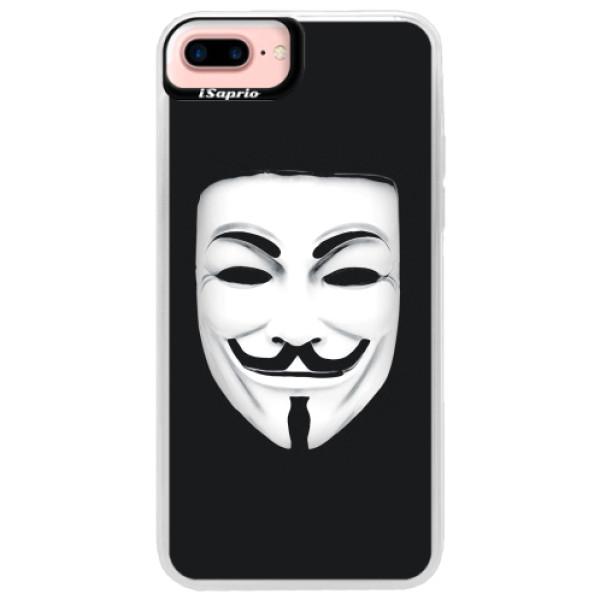 Neonové pouzdro Pink iSaprio - Vendeta - iPhone 7 Plus