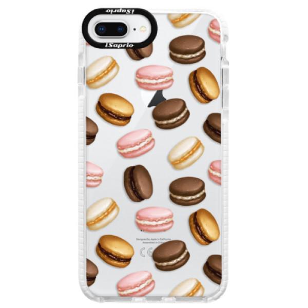 Silikonové pouzdro Bumper iSaprio - Macaron Pattern - iPhone 8 Plus