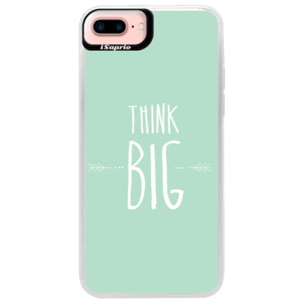 Neonové pouzdro Pink iSaprio - Think Big - iPhone 7 Plus