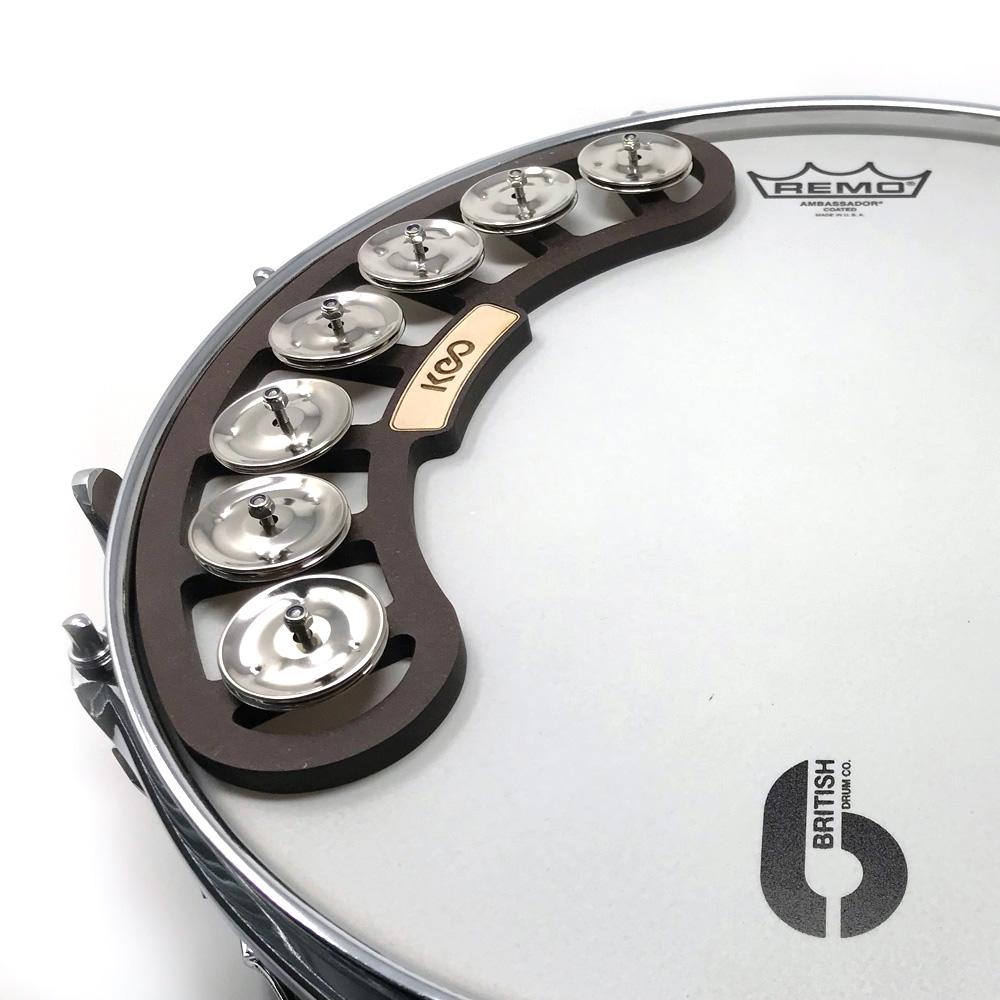Keo Percussion Snare Tambourine, tamburína pro malý buben