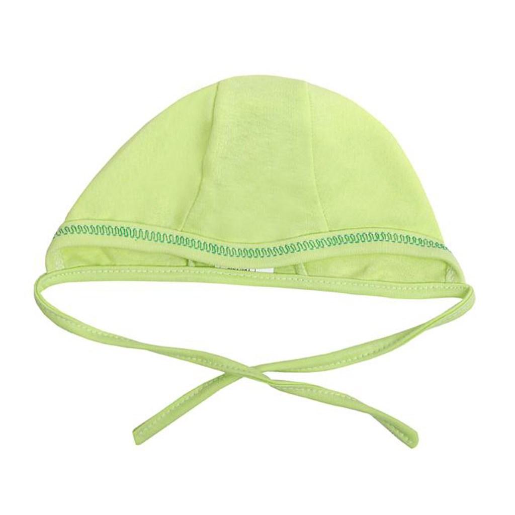 Kojenecká čepička New Baby - zelená/56 (0-3m)