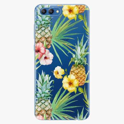 Plastový kryt iSaprio - Pineapple Pattern 02 - Huawei Honor View 10