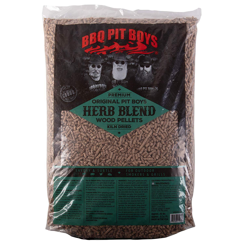 BBQ Pit Boys pelety ke grilování Herb Blend, 9 kg