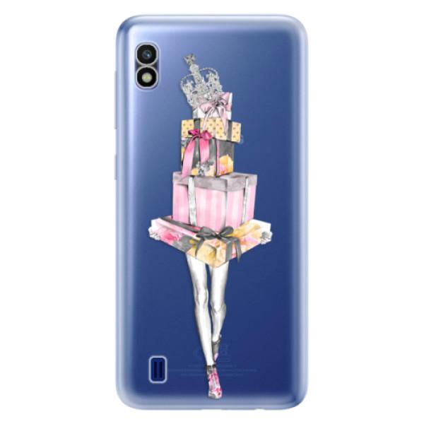 Odolné silikonové pouzdro iSaprio - Queen of Shopping - Samsung Galaxy A10