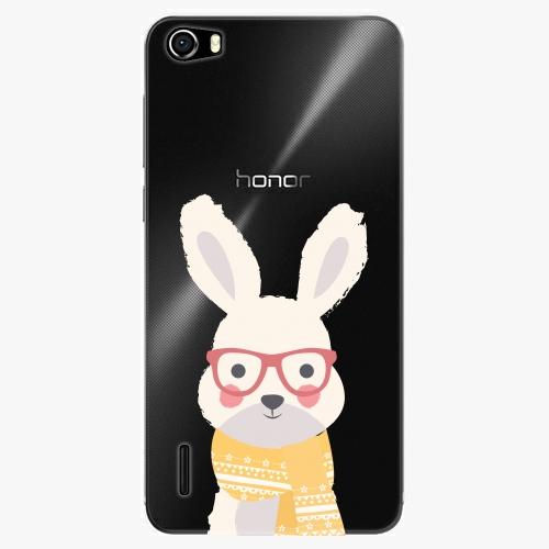 Plastový kryt iSaprio - Smart Rabbit - Huawei Honor 6