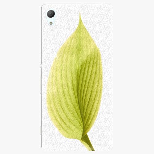 Plastový kryt iSaprio - Green Leaf - Sony Xperia Z3+ / Z4